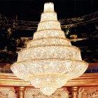 【Voltolina】イタリア製大型エンパイアシャンデリア 129灯(φ2500×H3300mm)