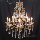 <b>【完売】【BAROQUE】</b>オランダ製アンティーク調シャンデリア 8灯(W700mm)<img class='new_mark_img2' src='https://img.shop-pro.jp/img/new/icons47.gif' style='border:none;display:inline;margin:0px;padding:0px;width:auto;' />