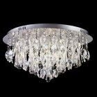 【LA LUCE】デザインクリスタルシーリングシャンデリア 18灯(W660×H335mm)※要お見積もり