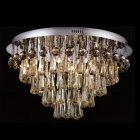 【LA LUCE】デザインクリスタルシーリングシャンデリア 21灯(W660×H420mm)※要お見積もり