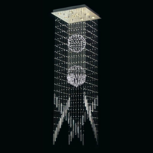 【TAEHWA】 デザインシーリングシャンデリア(W600×D600×H2000mm)