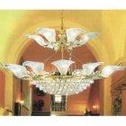 <B>【TAEHWA】</B>デザインシャンデリア 24灯(W1420×H860mm)