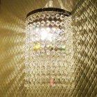 【LA LUCE】クリスタルデザインブラケット 1 灯(W170×D120×H220mm)