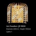 【LA LUCE】クリスタルブラケット 1灯 ゴールド(W200×H190)