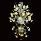 【VENICE ARTE】ヴェネチアンシャンデリア「Bright Sunflowers」48灯(φ1200×H1600mm)