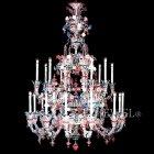 【VENICE ARTE】ヴェネチアンシャンデリア「Ducale」20灯(W2000×H2500mm)