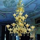 【VENICE ARTE】ヴェネチアンシャンデリア「Versailles」15灯(W1170×H1640mm)