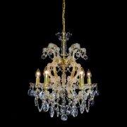 【WRANOVSKY】マリアテレサ型クリスタルシャンデリア「Maria Theresa」 5灯(W500×H570mm)