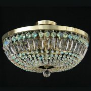 <b>【JOSEF WRANOVSKY】</b>チェコクリスタルシーリングシャンデリア 9灯(W500×H180mm)