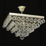 【WRANOVSKY】クリスタルシーリングシャンデリア「Prague」 4灯 (W400×H250mm)