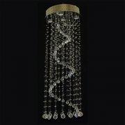 【WRANOVSKY】クリスタルシーリングシャンデリア「Expansion」 5灯(φ600×H2100mm)
