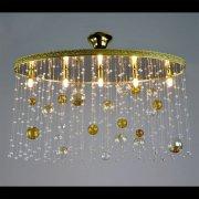 【WRANOVSKY】クリスタルシーリングシャンデリア「Bubbles」 5灯(W720×D260×H460mm)