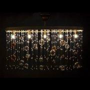 【WRANOVSKY】クリスタルシーリングシャンデリア「Ball」 5灯(W720×D260×H400mm)