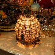 【1台在庫有!】【chehoma】ベルギー製 リボン・テーブルライト 1灯(W115×H118mm)
