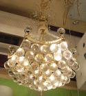 <b></b> ボールクリスタルシャンデリア 3灯(W380×H470mm)