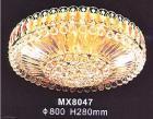 クリスタルシーリングシャンデリア 18灯(W800×H280mm)