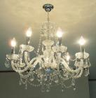 <b>【在庫有!】【LA LUCE】</b>チェコクリスタルシャンデリア 8灯(W660×H640mm)