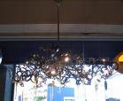 <B>【ALABASTER】</B>デザインモードシャンデリア 8灯(W1200×H600mm)