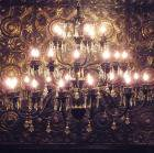 <B>【LA LUCE】</B>クリスタルブラックシャンデリア 30灯(W1500×H1200mm)