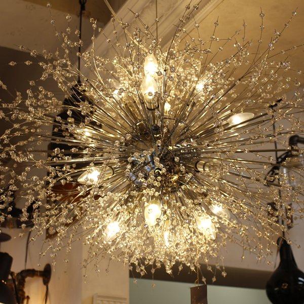【在庫有】 【LA LUCE】デザインシャンデリア16灯(W1000×H600mm)