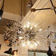 【在庫有】【LA LUCE】デザインシャンデリア16灯(W1000×H600mm)