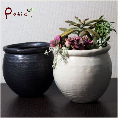 美濃焼手作り陶器植木鉢