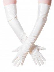 PVCロンググローブ/白【取寄(1〜3ヶ月)先払】【返品不可】ww-jgp1☆HNRグローブ・ベッドブーツ
