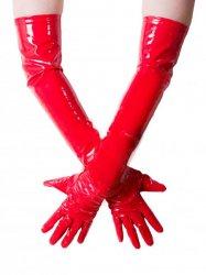 PVCロンググローブ/赤【取寄(1〜3ヶ月)先払】【返品不可】ww-jgp1☆HNRグローブ・ベッドブーツ