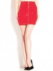 PVCミニスカート/赤【取寄(1〜3ヶ月)先払】【返品不可】ww-h2086☆HNRスカート