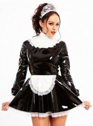 PVCクラッシックメイドコスチューム【取寄(1〜3ヶ月)先払】【返品不可】ww-h2250☆HNRドレス