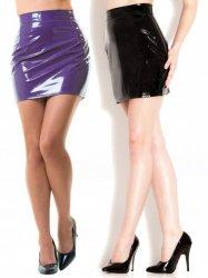 PVCミニスカート/黒・紫【取寄(1〜3ヶ月)先払】【返品不可】ww-h2000☆HNRスカート