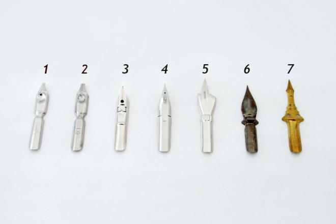 PNN01 ペン先(羽根ペン、つけペン用ニブ)