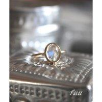 スリランカ産ブルームーンストーンのリング(k18)