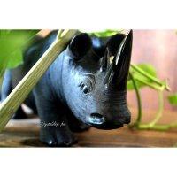 カスケード産オブシディアン(Black rhino)