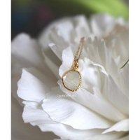 アフリカ産スライスダイヤモンドのペンダント(k18・チェーン付)