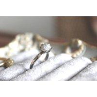 ナミビア産ダイヤモンドのリング(PT900)