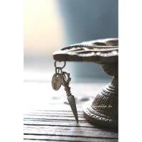 ハンドメイドプルパのネックレス(silver)