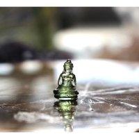 チェコ産モルダバイト(Buddha)