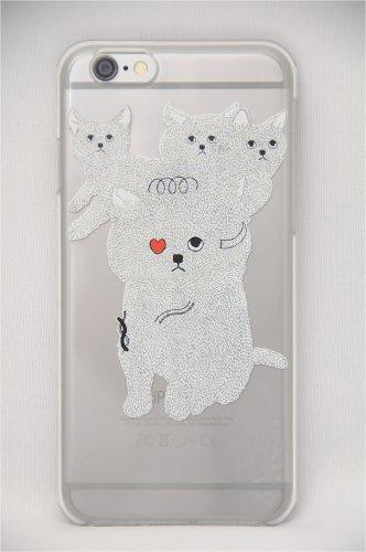 「KEORA KEORA(ケオラケオラ)」アクリルiPhone6/6Sケース(symbiosis cat)