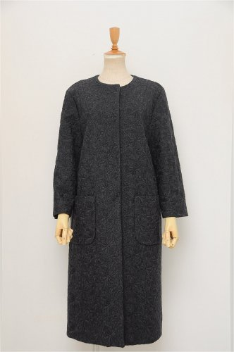 「nesessaire(ネセセア)」Wool embroi...