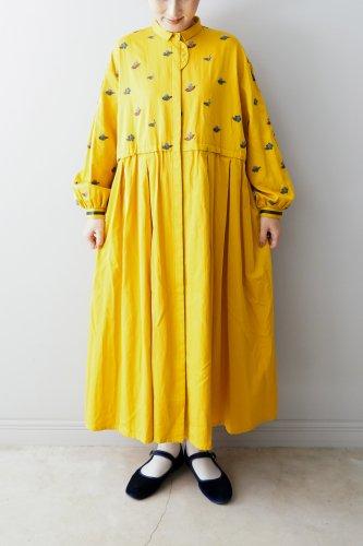 muuc・お茶の花刺繍のドレスコート