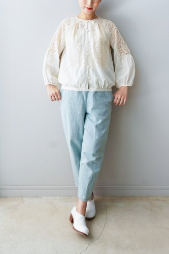 Rijoui Button up blouse(Off white)