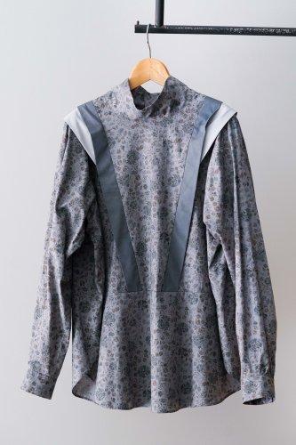 eLfinFolk Wild flower blouse (Gray)