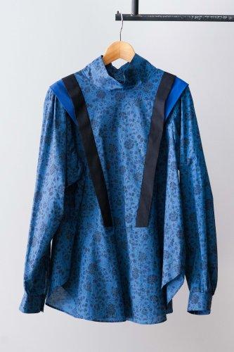 eLfinFolk Wild flower blouse (Blue)