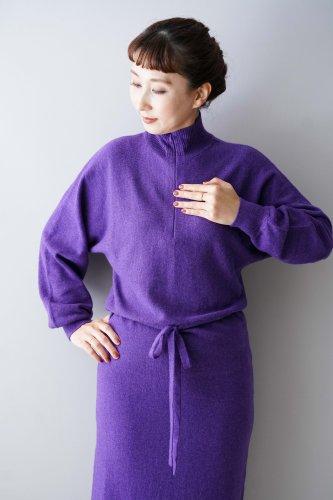 archi lauii knit one piece (Purple)