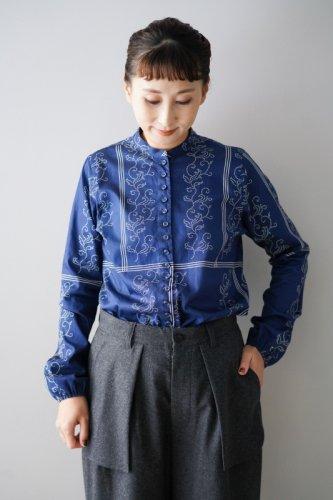YAB-YUM Many Button Shirt(Blue)