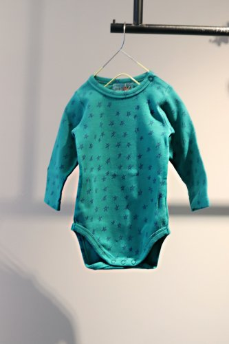 【sale】BOBO CHOSES Rompers(Green)-kids-6-12Months