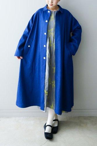 LILOU+LILY Coat  (Blue)