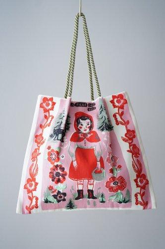 Nathalie Lete × mYmI Tote bag (Girl)