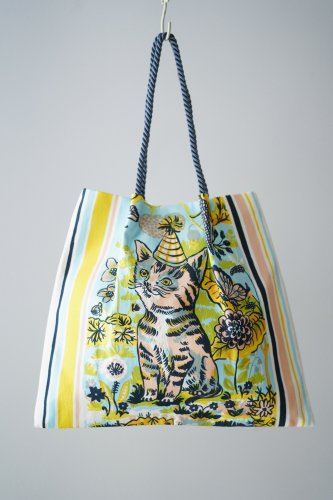 Nathalie Lete × mYmI Tote bag (Cat)